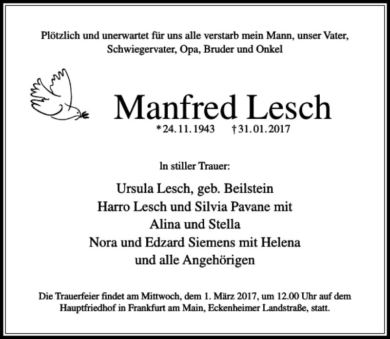 Manfred Lesch
